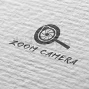 zoom camera creative logo