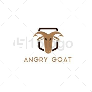 angry goat logo design