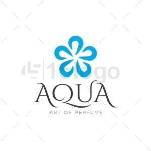 aqua logo design