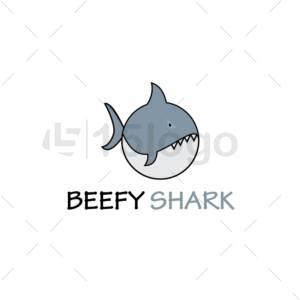 beefy shark logo
