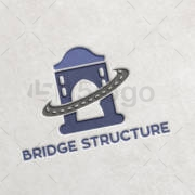 Bridge Structure Logo Design