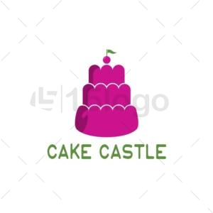 Cake Castle Creative Logo