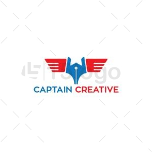 captain creative logo design