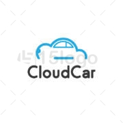 cloud car logo design