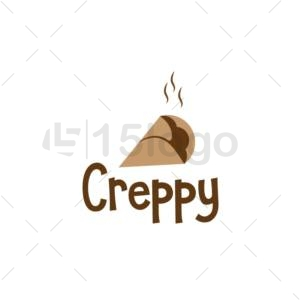 creppy logo design