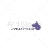dogsnursery logo design