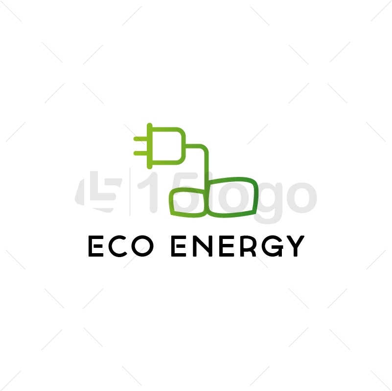 Eco Energy Logo Template