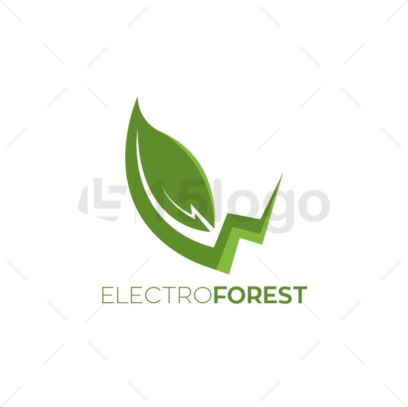 Electro Forest Logo Template