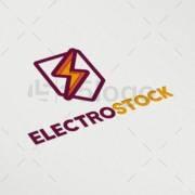 electro stock creative logo