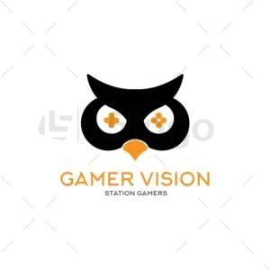 gamer vision creative logo