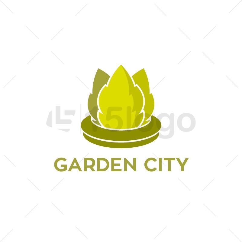 Garden City Logo Template