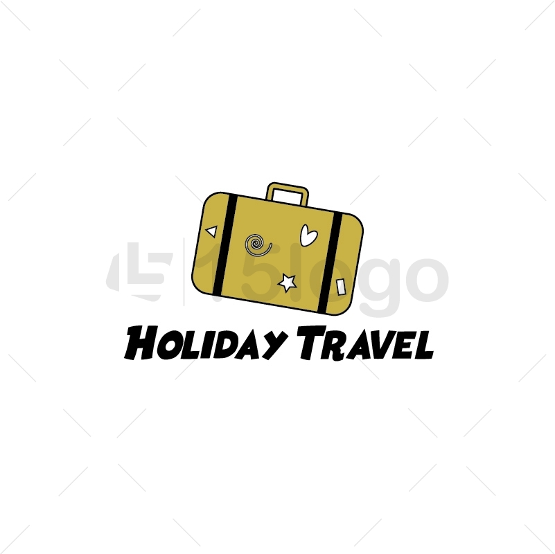 Holiday Travel Creative Logo