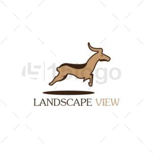 landscape view logo design