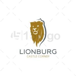 lionburg logo design