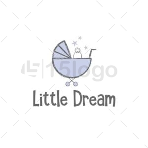 little dream logo template