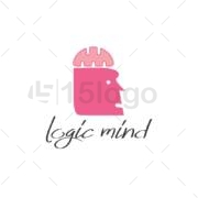 logic mind creative logo