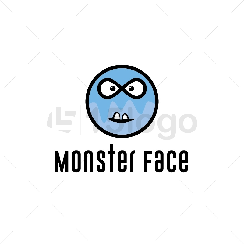 Monster Face Logo Design