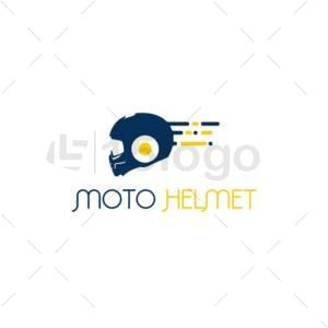 moto helmet logo template