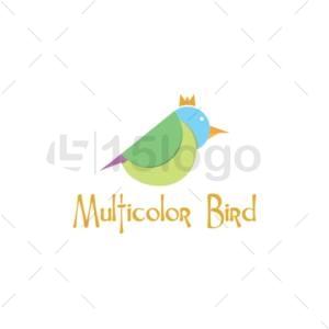 multicolor bird logo Design