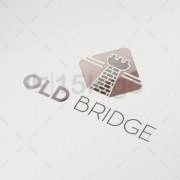 old bridge logo template