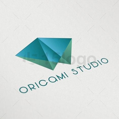 Origami Studio Logo Design 1 2