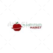 planet food logo template