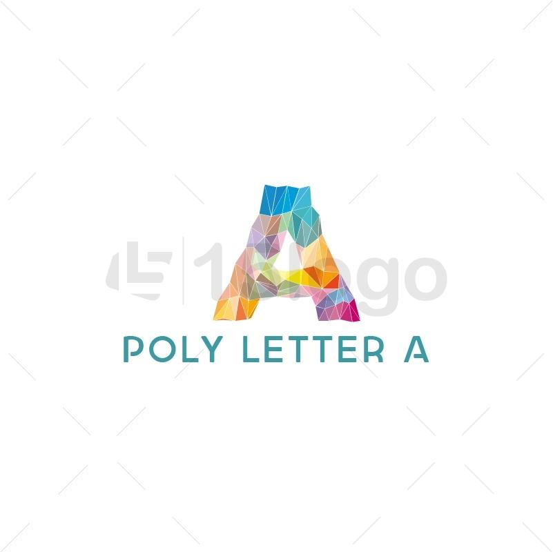 Poly Letter A Logo