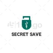 secret save creative logo