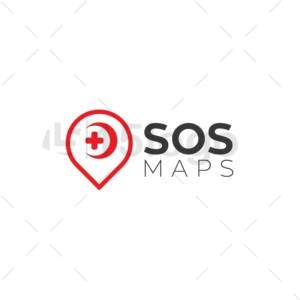 sos maps logo design