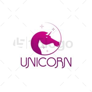 unicorn logo design