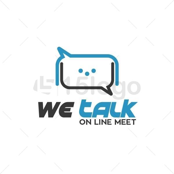 we talk logo