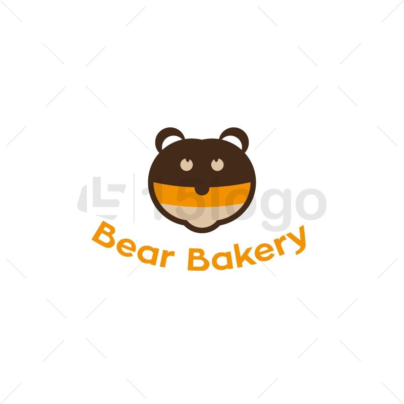 Bear Bakery Logo Design
