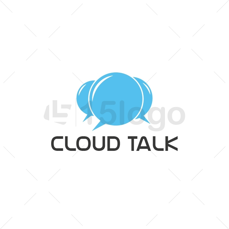 Cloud Talk Creative Logo