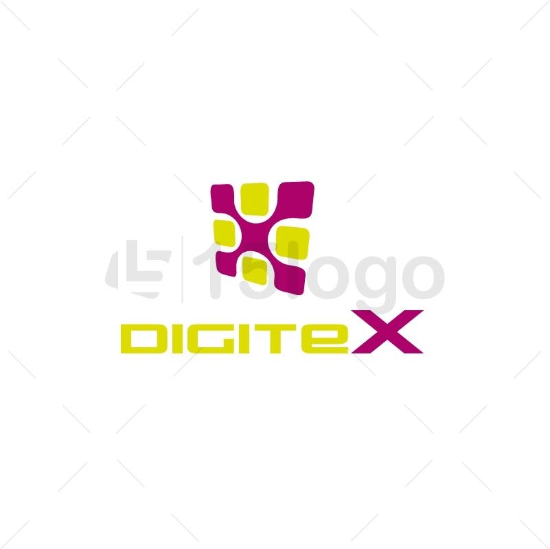 DigiteX Logo Template