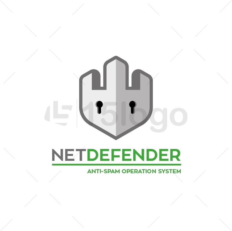 NetDefender Logo Template