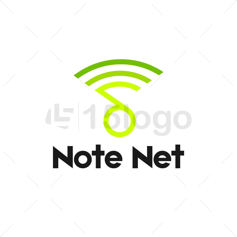 Note Net Logo Design