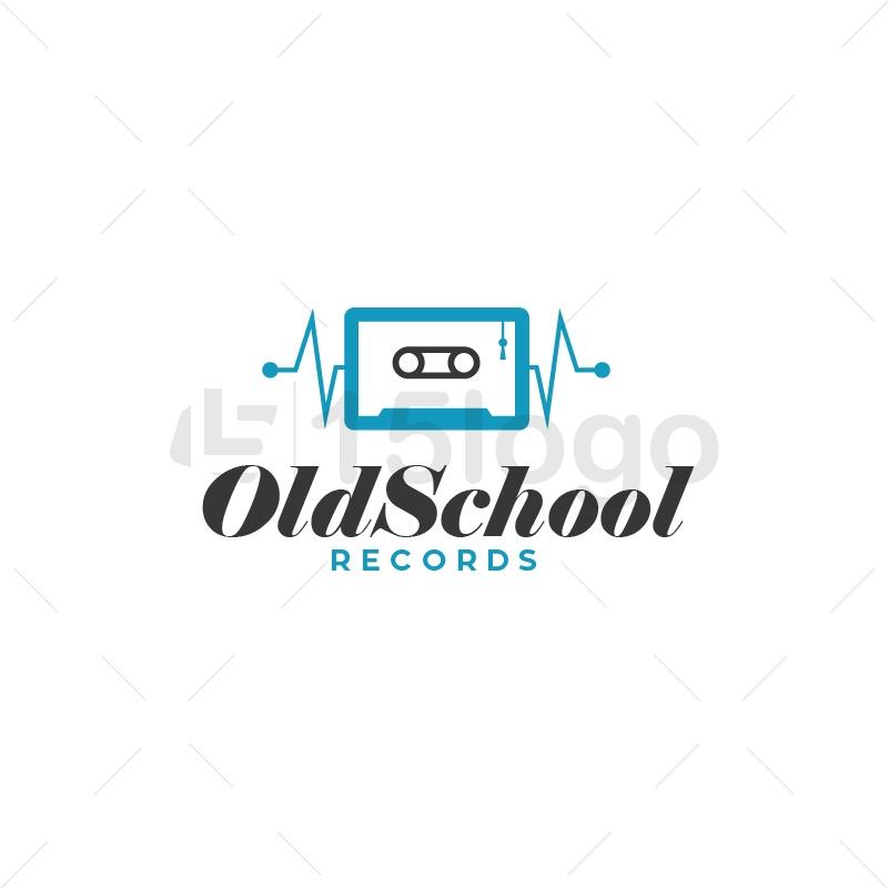 Old School Logo Template