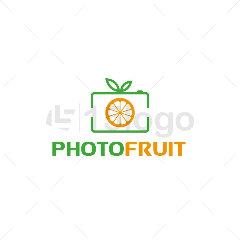 Photo Fruit Logo Design