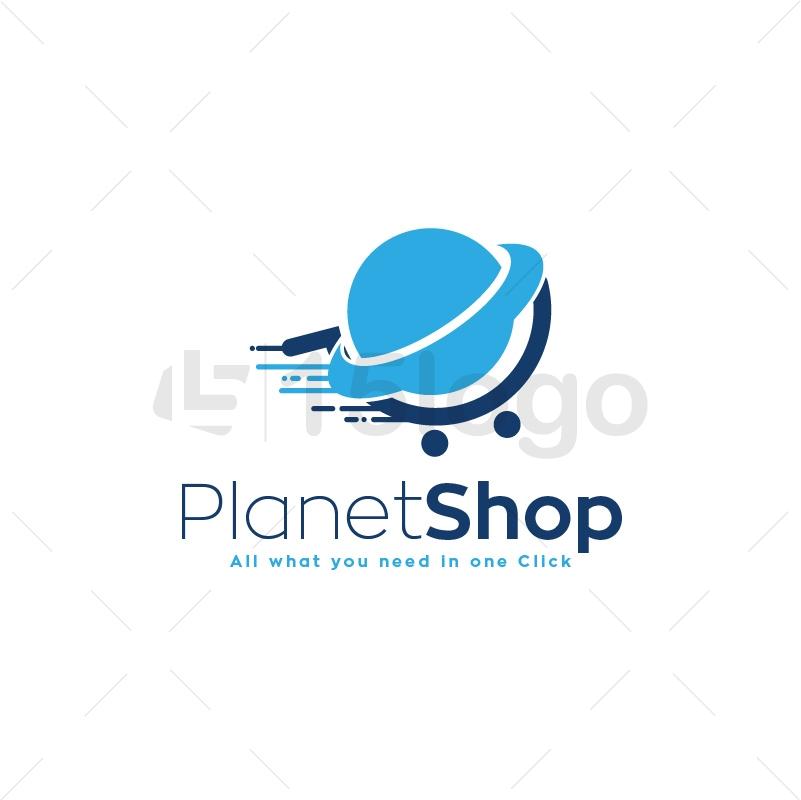 Planet Shop Logo