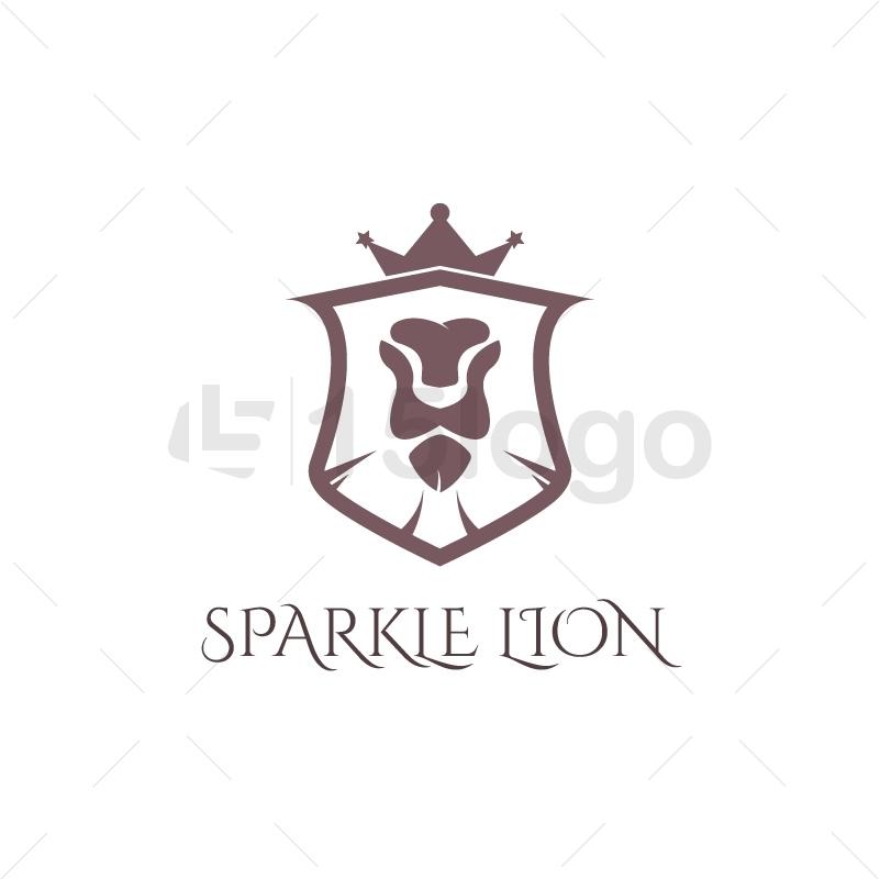 Sparkle Lion Creative Logo
