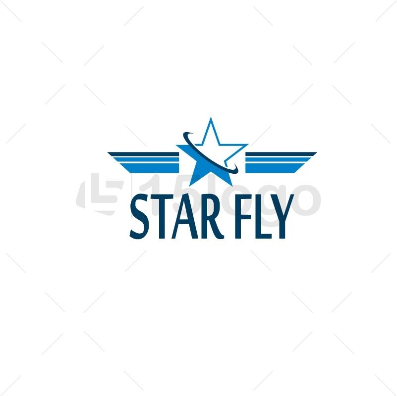 Star Fly Logo Design