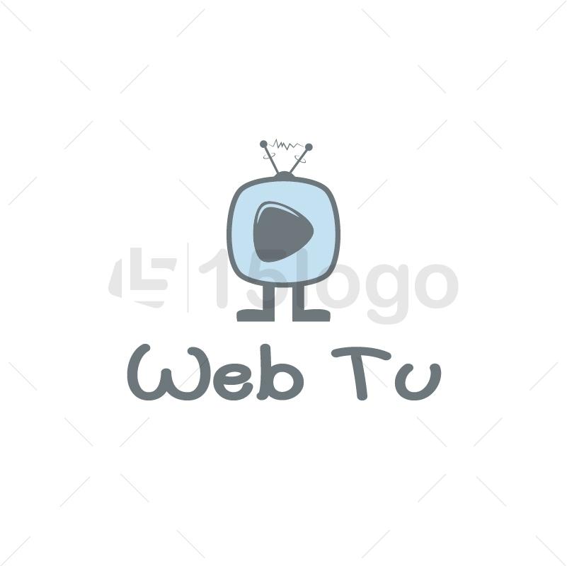 Web TV Logo Design