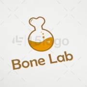 bone lab logo template