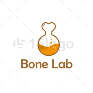 bone lab logo template