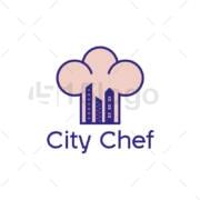 city chef creative logo