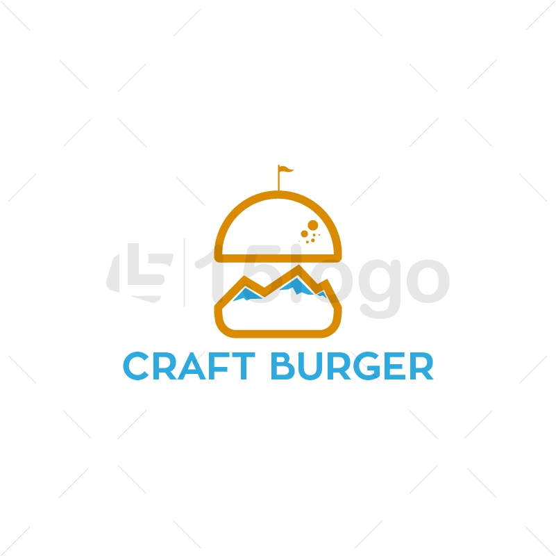 Craft Burger Logo Design