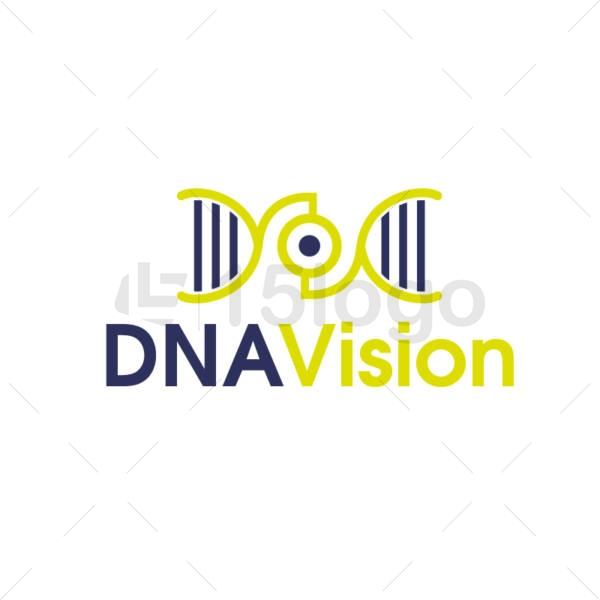 dna vision creative logo