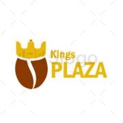 king plaza logo template