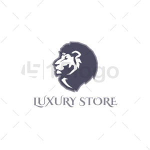 luxury store creative logo