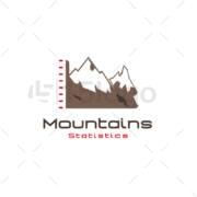 mountains statistics logo
